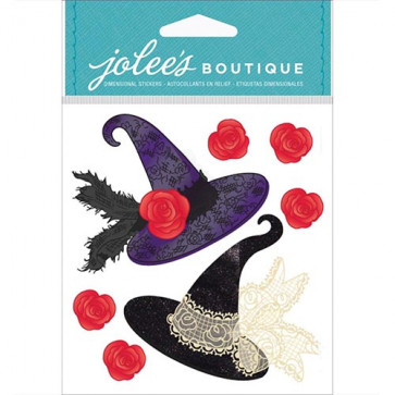 Jolee's Boutique Halloween Stickers - Witch Hats