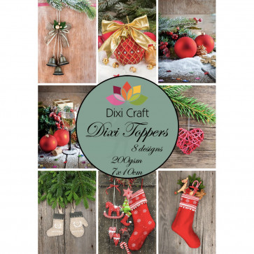Dixi Craft Toppers 7x10 cm TASTER