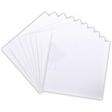 "Core'dinations 110lb Smooth Cardstock 12x12"" 1 stk - White"