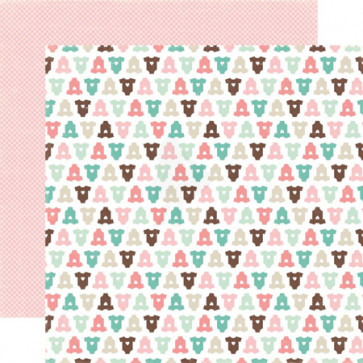 "Echo Park Bundle Of Joy Girl Double-Sided Cardstock 12x12"" - Newborn"
