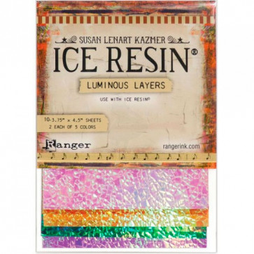 Ranger Ice Resin Maylar Sheets Luminous Layers