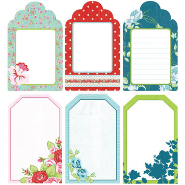 KaiserCraft Miss Nelly Mini Journal Tags Die-Cut Paper Pad TASTER
