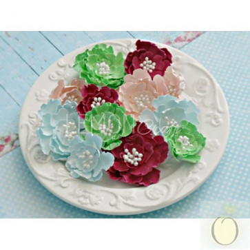 LemonCraft Neverending Summer Collection - Paper FLower Set