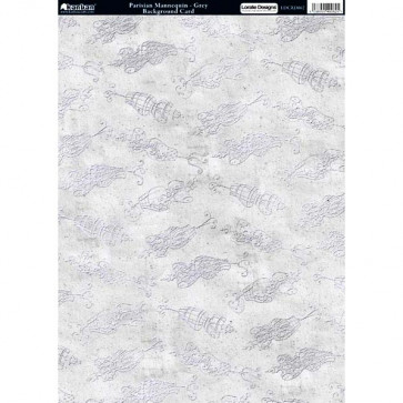 Kanban A4 Background Card - Parisian Mannequin, Grey