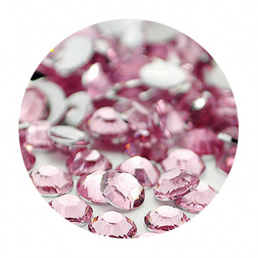 3mm Rhinsten - Light Light Rose