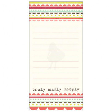 Lime Twist Life Of The Party Cardstock Journaling Card - Love