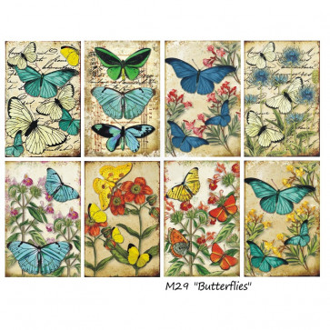 Decorer Scrapbook Sæt Mini Mini - Butterflies