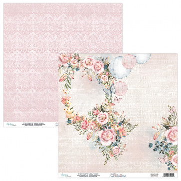 """Mintay 7th Heaven Double-Sided Cardstock 12x12"""" Design 1"""