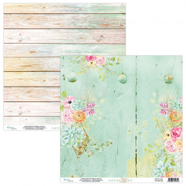 """Mintay Lovely Day Double-Sided Cardstock 12x12"""" Design 4"""