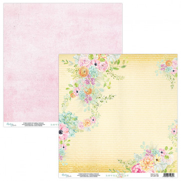 """Mintay Lovely Day Double-Sided Cardstock 12x12"""" Design 5"""