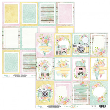 """Mintay Lovely Day Double-Sided Cardstock 12x12"""" Design 6"""