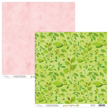 """Mintay Springtime Double-Sided Cardstock 12x12"""" Design 1"""