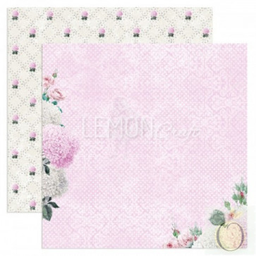 "LemonCraft Dreamy Mornings Collection 12x12"" Dobbeltsidet Scrapbooking Papir - Touch Of The Sun"