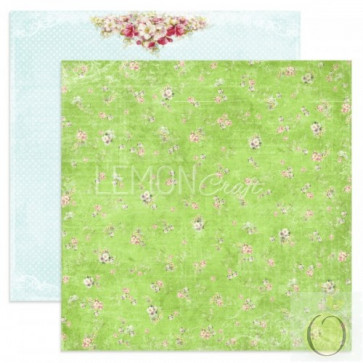 "LemonCraft Neverending Summer Collection 12x12"" Dobbeltsidet Scrapbooking Papir - Walk Through The Meadow"
