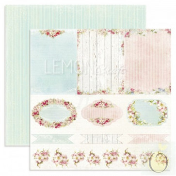 """LemonCraft Neverending Summer Collection 12x12"""" Dobbeltsidet Scrapbooking Papir - Journey Into The Unknown"""
