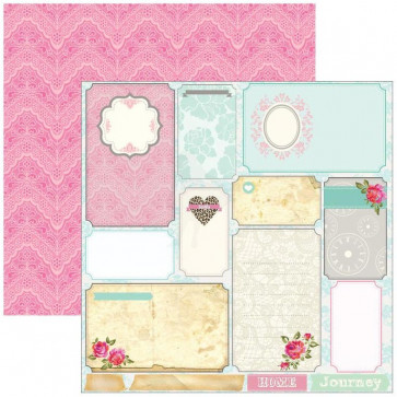 """Marion Smith Design Posh Double Sided Cardstock 12x12"""" - Boutique"""