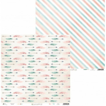 "Piatek13 Cute & Co Double-Sided Cardstock 12x12"" Design 2"