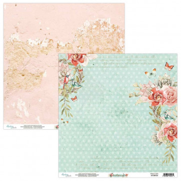 "Mintay Birdsong Double-Sided Cardstock 12x12"" Design 4"