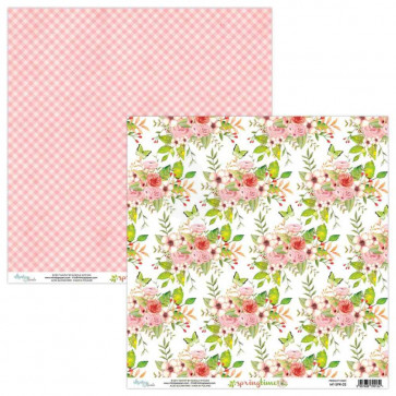 """Mintay Springtime Double-Sided Cardstock 12x12"""" Design 2"""