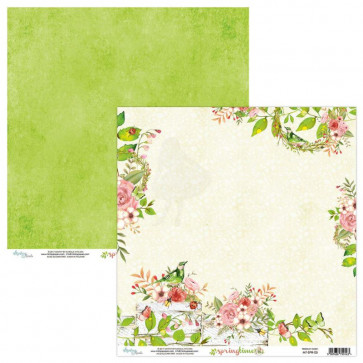 "Mintay Springtime Double-Sided Cardstock 12x12"" Design 5"