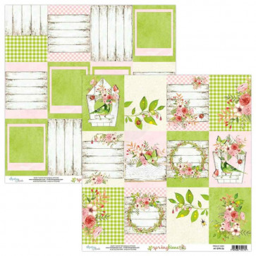 """Mintay Springtime Double-Sided Cardstock 12x12"""" Design 6"""