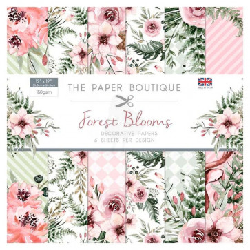 """The Paper Boutique 6x6"""" Paperpad Forest Blooms TASTER"""