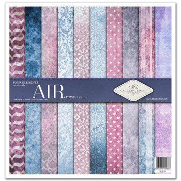 """ITD Collection 12x12"""" Scrapbooking Sæt Four Elements - Air"""