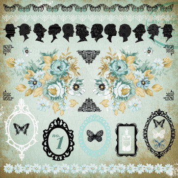 """KaiserCraft 75 Cents Cardstock Stickers 12x12"""" - Icons"""