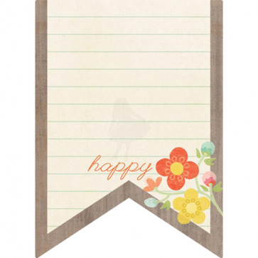 Journaling Card - Happy Vimpel
