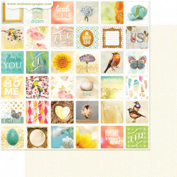 "Webster's Pages Nest Double-Sided Cardstock 12x12"" - Special Places"