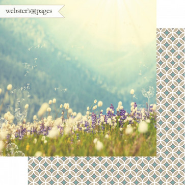 "Webster's Pages Dream In Color Double-Sided Cardstock 12x12"" - Field Of Bliss"