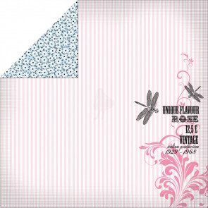 "KaiserCraft Lavender Haze Double-Sided Paper 12x12"" Perfume"