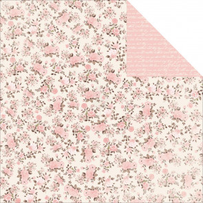 "KaiserCraft Pitter Patter Double-Sided Cardstock 12x12"" - Baby Cakes"
