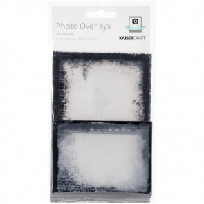 Kaisercraft Photo Overlays 16/Pkg Distressed