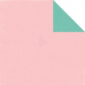 "Echo Park Bundle Of Joy/A New Addition Dobbeltsidet Cardstock 12x12"" - Light Pink/Teal"