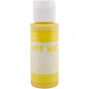 Jillibean Happy Hues Paint Daubers 2oz - Yummy Yellow
