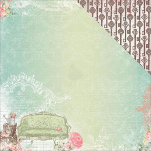 "BoBunny Soiree Double-Sided Cardstock 12x12"" - Allure"