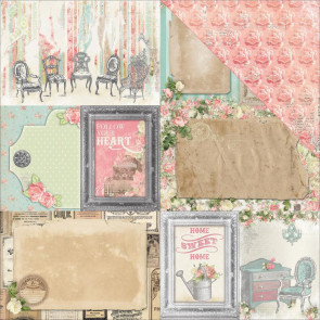 "BoBunny Soiree Double-Sided Cardstock 12x12"" - Splendid"