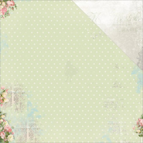 "BoBunny Soiree Double-Sided Cardstock 12x12"" - Tranquil"