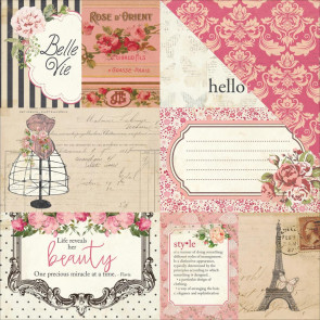 "Photo Play Paper Belle Vie Double-Sided Cardstock 12x12"" By Julie Nutting - Cards"