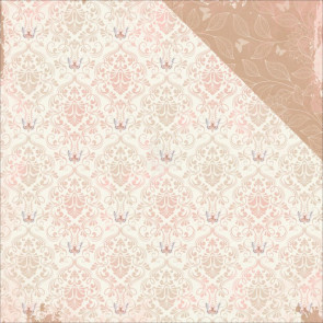 """BoBunny Butterfly Kisses Double-Sided Cardstock 12x12""""- Breeze"""