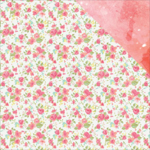 "KaiserCraft Party Time Double-Sided Cardstock 12x12"" Cotton Candy"