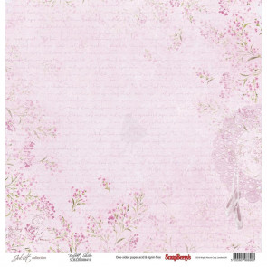 "ScrapBerry's Juliet Single-Sided Cardstock 12x12"" - Ballet Shoes"