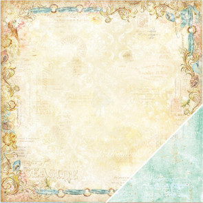 "Blue Fern Seaside Cottage Dobbeltsidet Cardstock 12x12"" - Regalia"