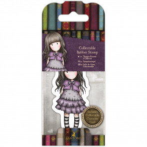 Santoro's Gorjuss Rubber Stamps No. 32, Little Violet