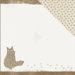 "KaiserCraft Pawfect Double-Sided Cardstock 12x12"" - Kitty"