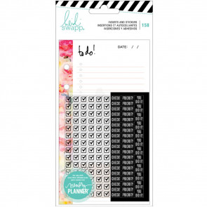 Heidi Swapp Memory Planner Inserts With Stickers To Do