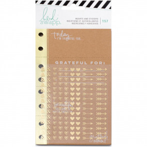 Heidi Swapp Memory Planner Inserts With Stickers Give Thanks