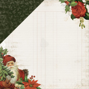 "KaiserCraft Letters To Santa Double-Sided Cardstock 12x12"" Dear Santa"