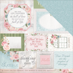 "KaiserCraft Rose Avenue Double-Sided Cardstock 12x12"" Irreplaceable"